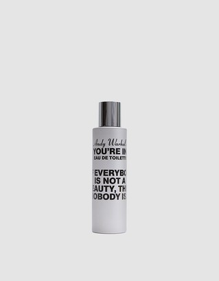 """Comme des Garcons Andy Warhol """"You're In"""" If Everybody Is Not A Beauty Perfume"""