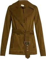 A.L.C. Wills belted cotton-blend gabardine jacket