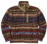 Ralph Lauren Boys 2-7 Fairisle Fleece Jacket