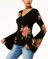 INC International Concepts Anna Sui Loves Floral Jacquard Sweater, Created for Macy's