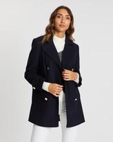 Dorothy Perkins Button Front Pea Coat