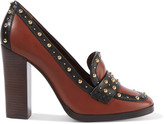 Tory Burch Cormac studded leather pumps
