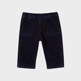 Paul Smith Baby Boys' Navy Cotton-Corduroy Trousers