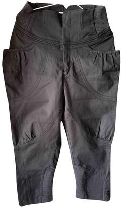 Tsumori Chisato Black Cotton Trousers for Women
