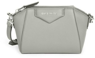 Givenchy Nano Antigona Leather Crossbody Bag