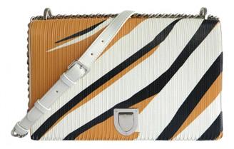 Christian Dior Diorama White Leather Handbags