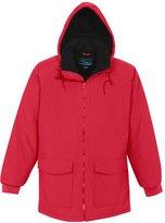 Tri-Mountain Men's 9900 Woodsman Hooded Jacket, Red, 5XLT