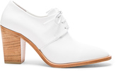 Maryam Nassir Zadeh Leather Flavia Heeled Loafers