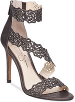 Jessica Simpson Geela Asymetrical Lace Sandals