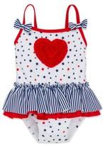 Little Me Infant Girl's Stars & Heart One-Piece Swimsuit