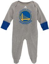 adidas Baby Golden State Warriors Footed Bodysuit