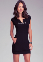 Bebe Logo Tunic Dress
