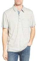 True Grit Men's Stripe Polo