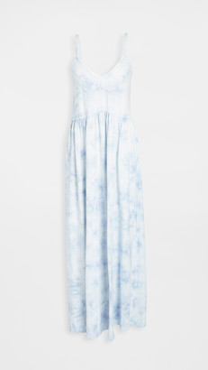 Z Supply Hazy Tie Dye Maxi Dress