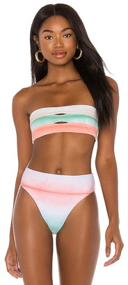 PQ Colorblock Bandeau Top