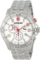 Wenger Men's 77059 Squadron Chrono Dial Steel Bracelet Watch