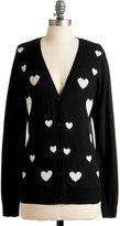 Heart-ly Contain Myself Cardigan