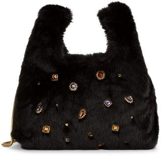 Sam Edelman Mini Jessamy Faux Fur Shopper