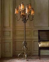 John-Richard Collection Venetian-Style Floor Lamp