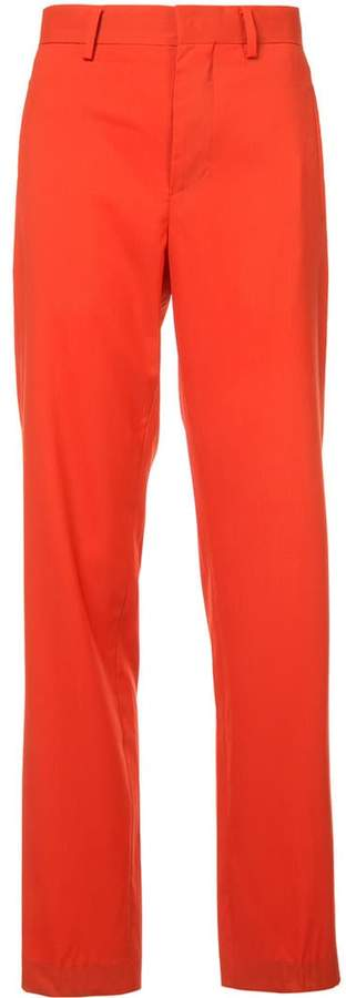 Dion Lee straight-leg trousers