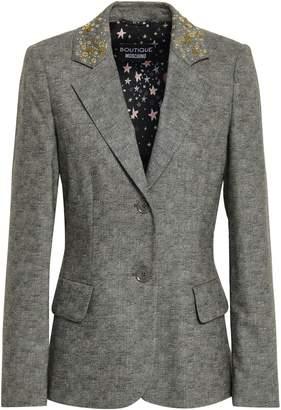 Moschino Embellished Wool-blend Blazer