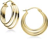Giani Bernini Triple Hoop Earrings in 18k Gold-Plated Sterling Silver, Created for Macy's