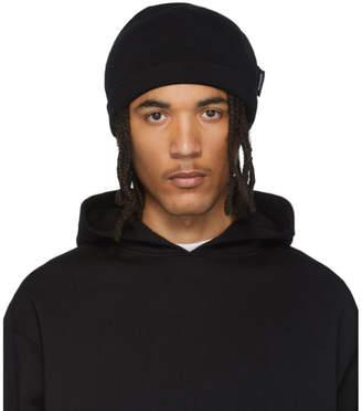AFFIX Black Knit Beanie