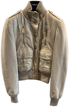 Gucci Gold Leather Jacket for Women