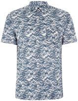 Topman White Marble Shirt