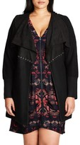 City Chic Plus Size Women's Mystery Longline Cardigan