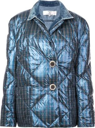 Natasha Zinko Check Padded Jacket