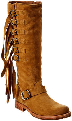 Frye Veronica Strap Suede Tall Boot