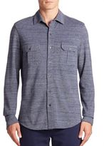 Orlebar Brown Textured Button-Front Shirt