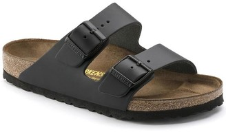 Birkenstock Black Arizona Sandal Leather - 41/UK7.5 - Black