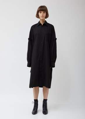 Yohji Yamamoto Layered Sleeve Shirtdress