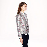 J.Crew Collection Rylan blazer in gilded paisley jacquard