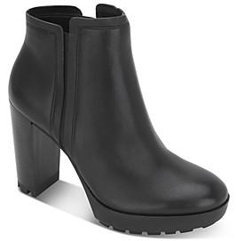 Kenneth Cole Women's Justin Platform Heel Chelsea Boots