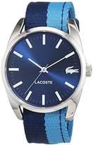 Lacoste Women's Analogue Quartz Watch Malaga Fabric 2000925