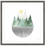 Above the Grey (Framed Giclee)