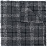 Brunello Cucinelli large checked scarf