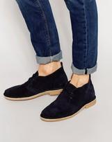 Jack & Jones Gobi Suede Desert Boots - Blue