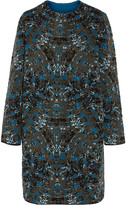 M Missoni Jacquard-knit wool-blend coat
