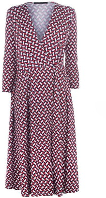 Max Mara Weekend Acca Wrap Dress