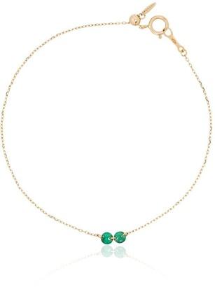 PERSÉE 18kt Gold Emerald Bracelet