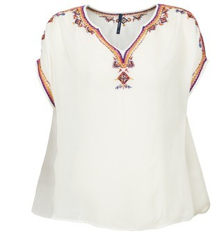 Pepe Jeans JOLINE women's Blouse in White