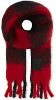 Loewe Checked mohair-wool blend scarf
