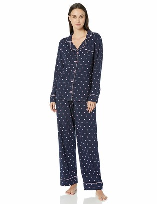 Hatley Little Blue House by Women's Long Sleeve Pajama Set