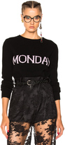 Alberta Ferretti Monday Crewneck Sweater