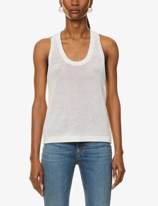 Rag & Bone Jacy sleeveless cotton-knit tank top
