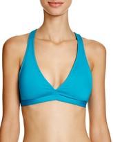 Carmen Marc Valvo Solid Bralette Bikini Top